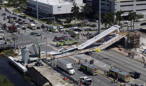 Florida Bridge Collapse — Original Picture Courtesy of NBC News